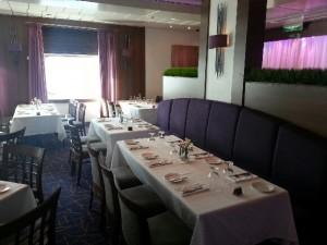 P&O dining room