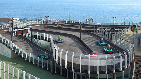 Norwegian Cruise Lines  Racetrack